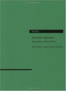 Economic Openess: Many Facets, Many Metrics
