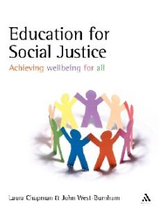 Education for Social Justice: Achieving wellbeing for all