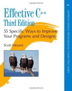 Effective C++ Third Edition 55 Specific Ways to Improve Your Programs and Designs