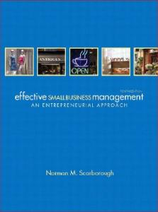 Effective Small Business Management, 10th Edition