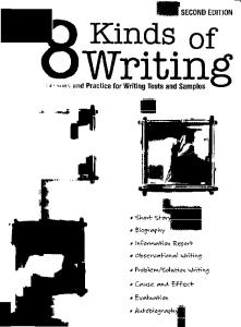 Eight Kinds of Writing