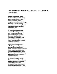 El Aprendiz Alvin