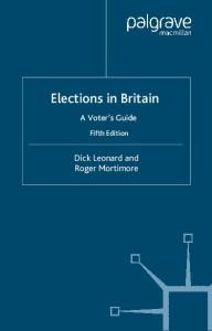 Elections in Britain: A Voter's Guide
