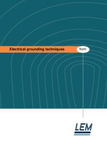 Electrical Grounding Techiques