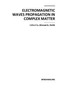 Electromagnetic Waves Propagation in Complex Matter