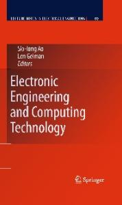 Electronic Engineering and Computing Technology (Lecture Notes in Electrical Engineering)