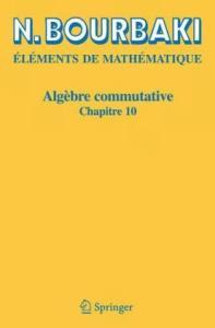 Elements de Mathematique. Algebre commutative. Chapitre 10