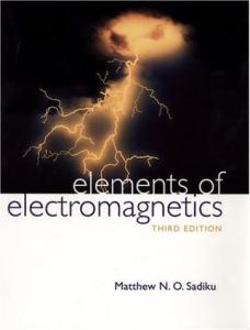 Elements of Electromagnetics - Third Edition