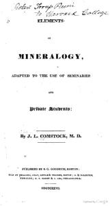 Elements of Mineralogy Adapted To The Use Of Seminaries and Private Students