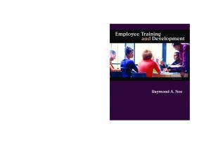 Employee Training & Development, 5th Edition