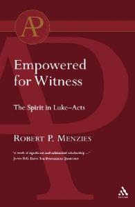 Empowered for Witness (Academic Paperback)