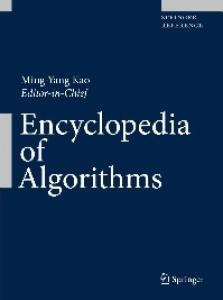Encyclopedia of Algorithms