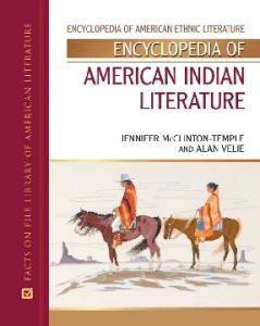 Encyclopedia of American Indian Literature (Encyclopedia of American Ethnic Literature)