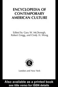 Encyclopedia of contemporary american culture pdf free download fandeluxe Gallery