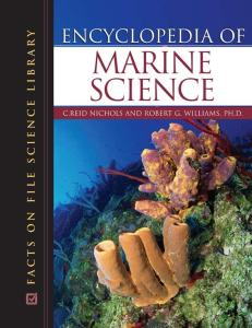 Encyclopedia of Marine Science (Science Encyclopedia)