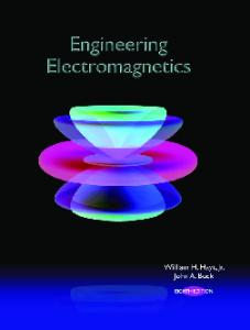 Engineering Electromagnetics, 8th Edition