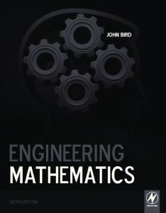 Engineering Mathematics, Sixth Edition