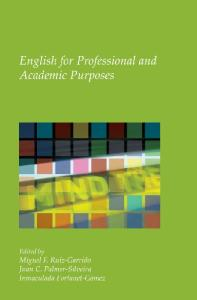 English for Professional and Academic Purposes. (Utrecht Studies in Language and Communication)