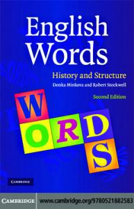 English Words: History and Structure, 2nd edition
