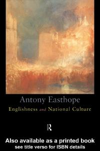 Englishness and National Culture