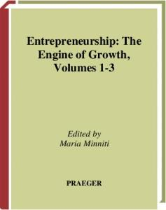 Entrepreneurship: The Engine of Growth