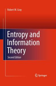 Entropy and Information Theory