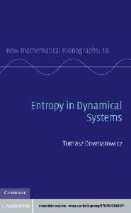 Entropy in Dynamical Systems (New Mathematical Monographs)