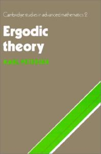 Ergodic Theory (Cambridge Studies in Advanced Mathematics 2)