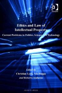 Ethics and Law of Intellectual Property