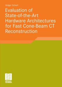 Evaluation of State-of-the-Art Hardware Architectures for Fast Cone-Beam CT Reconstructions
