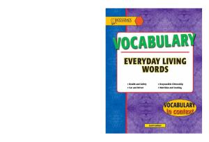 Everyday Living: Vocabulary (Vocabulary in Context)