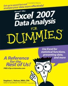 Excel. 2007 Data Analysis for Dummies