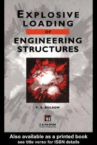 Explosive Loading of Engineering Structures