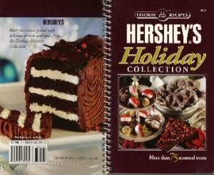 Favorite All Time Recipes Hersheys Holiday Collection