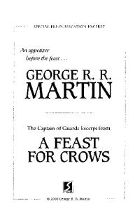 Feast of Crows (Teaser)