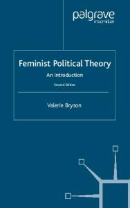 Feminist Political Theory: An Introduction, Second Edition