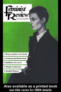 Feminist Review: Journal, Issue 40 (Feminist Review)