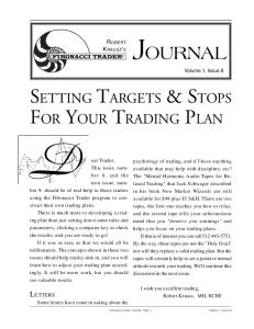 Fibonacci Trader Journal