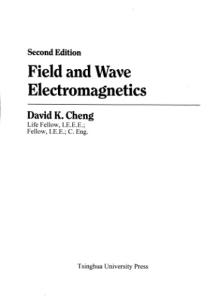 Field and Wave Electromagnetics (2nd Edition, 2006 reprint of 1989)