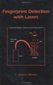 Fingerprint detection with lasers
