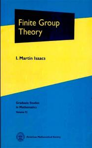 Finite Group Theory (GSM92)