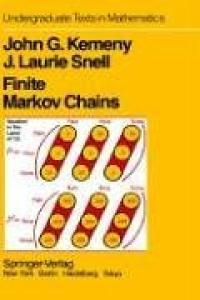 Finite Markov chains, Undergraduate Texts in Mathematics