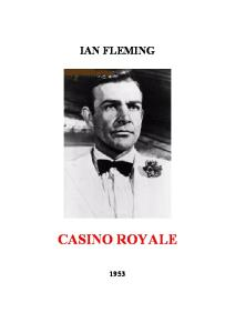 Fleming, Ian - Bond 01 - (1953) Casino Royale