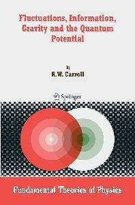 Fluctuations, information, gravity and the quantum potential