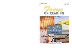Focus on Reading: A Long Way from Chicago (Saddleback's Focus on Reading Study Guides)