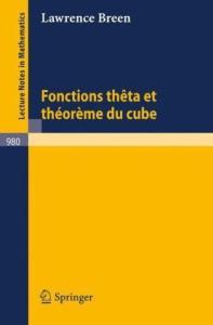 Fonctions theta et theoreme du cube