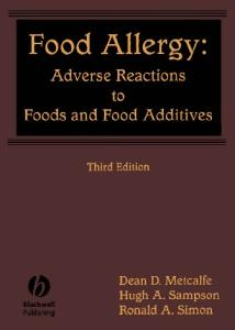 Food Allergy: Adverse Reactions to Food and Food Additives