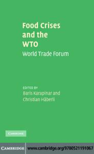Food Crises and the WTO: World Trade Forum