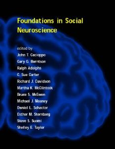 Foundations in Social Neuroscience (Social Neuroscience)