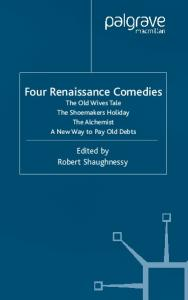 Four Renaissance Comedies